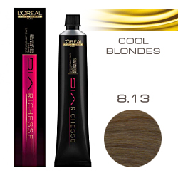 L'Oreal Professionnel Diarichesse - Краска для волос Диаришесс 8.13 Пепельно-бежевый 50 мл