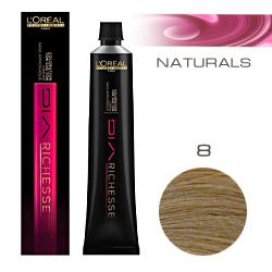 L'Oreal Professionnel Diarichesse - Краска для волос Диаришесс 8 Светлый блондин 50 мл