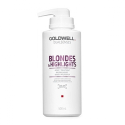 Goldwell Dualsenses Blondes And Highlights 60sec Treatment - Интенсивный уход за 60 секунд 500мл