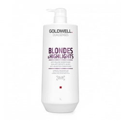 Goldwell Dualsenses Blondes and Highlights Anti-Yellow Shampoo – Шампунь против желтизны 1000 мл