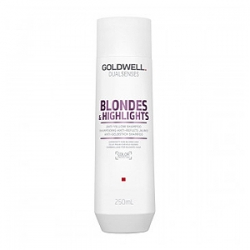 Goldwell Dualsenses Blondes and Highlights Anti-Yellow Shampoo – Шампунь против желтизны 250 мл