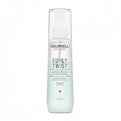 Goldwell Dualsenses Curly Twist Hydrating Serum Spray - Увлажняющий двухфазный спрей для вьющихся волос 150 мл