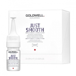 Goldwell Dualsenses Just Smooth Taming Serum - Интенсивная разглаживающая сыворотка 12х18мл