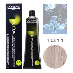 L'Oreal Professionnel Inoa - Краска для волос Иноа 10.11 Очень светлый блондин интенсивный пепельный 60 мл