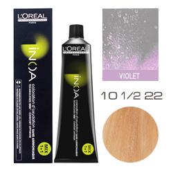 L'Oreal Professionnel Inoa - Краска для волос Иноа 10 1/2 22 Очень очень светлый суперблондин интенсивно перламутровый 60 мл