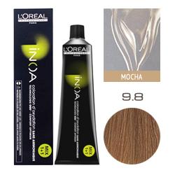 L'Oreal Professionnel Inoa - Краска для волос Иноа 9.8 Очень светлый блондин мокка 60 мл
