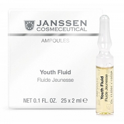 Janssen Cosmetics Ampoules Youth Fluid - Ревитализирующая Сыворотка в Ампулах 25 х 2 мл