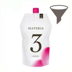 LEBEL Оксидант для красителя New Materia OXY 3%  60мл (Розлив)