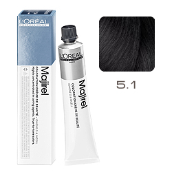 Loreal Majirel Cool Inforced - Краска для волос 5.1 Светлый шатен пепельный 50 мл