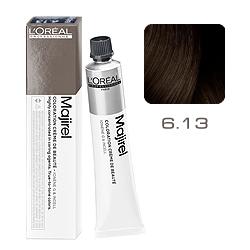 Loreal Majirel Cool Inforced - Краска для волос 6.13 Темный блондин пепельно-золотистый 50 мл