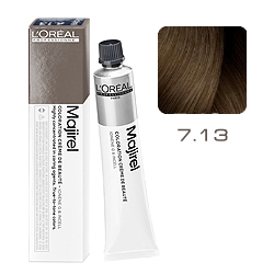 Loreal Majirel Cool Inforced - Краска для волос 7.13 Блондин пепельно-золотистый 50 мл