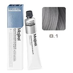 Loreal Majirel Cool Inforced - Краска для волос 8.1 Светлый блондин пепельный 50 мл