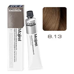 Loreal Majirel Cool Inforced - Краска для волос 8.13 Светлый блондин пепельно-золотистый 50 мл
