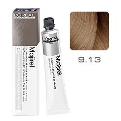 Loreal Majirel Cool Inforced - Краска для волос 9.13 Очень светлый блондин пепельно-золотистый 50 мл