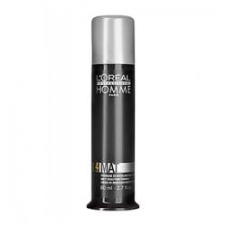 L'Oreal Professionnel Homme Mat Paste - Матирующая Крем-Паста для Укладки Волос (фикс. 4) 80 мл