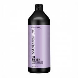 Matrix Total Results Color Obsessed So Silver Shampoo - Шампунь для седых и светлых волос 1000 мл