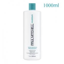 Paul Mitchell Instant Moisture Daily Shampoo - Увлажняющий шампунь для ежедневного использования 1000 мл