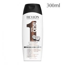 Revlon Professional Uniq One All In One Conditioning Shampoo Coconut - Шампунь-кондиционер для волос и кожи головы 300 мл