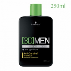 Schwarzkopf Professional [3D]Men Anti-Dandruff Shampoo - Шампунь против перхоти 250 мл