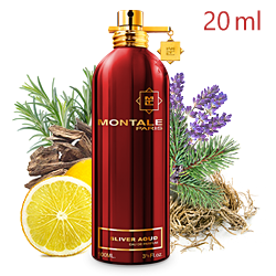Montale Sliver Aoud «Частица уда» - Парфюмерная вода 20ml