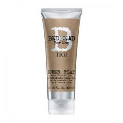 TIGI Bed Head B for Men Power Play Firm Finish Gel - Гель для волос сильной фиксации 200мл